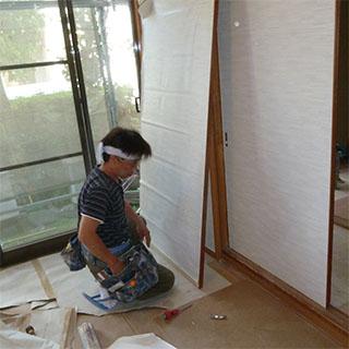建具の調整・補修